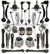 Fr + Rr Control Arms Ball Joints Engine Tranny Mount Bmw E90xi Suspension Kit 29