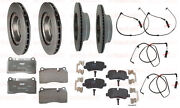 Land Rover Range Rover 06-09 Supercharge Brembo Front+rear Rotors+pads+sensors