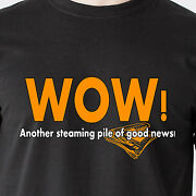 Wow Another Steaming Pile Of Good News Chess Mimi Drew Tv Retro Funny T-shirt