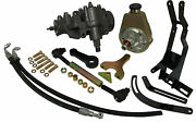 1947-55 Chevy Power Steering Conversion Kit For 235 6-cylinder - Lowered