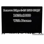 15.6'' Lcd Touch Screen Assembly Display Nv156fhm-n42 A13 For Lenovo Edge 2 15