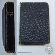 The Book Of Common Prayer Good Minature Leatherette Edition C.1893-1908 79871