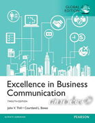 New Excellence In Business Communication 12th Edition Courtland Bovee John Thill