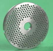 Size 42 X 3/16 Meat Grinder Disc Plate For Hobart 4542 Cabelas Stainless Steel