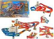 Hot Wheels Auto Lift Expressway Track Set Play Ages 4+ New Toy Boys Girls Fun
