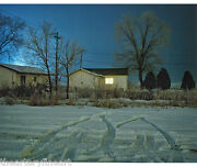 Todd Hido And0394124and039 2005/2010 Signed Photograph 39/50 16 X 20 And039house Huntingand039