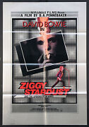 Ziggy Stardust And The Spiders From Mars David Bowie 1982 British 1-sheet
