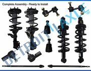 2002-2006 Honda Cr-v Front And Rear Strut Inner Outer Tie Rod Ball Joint Sway Bar
