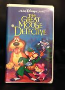 The Adventures Of The Great Mouse Detective Vhs 1992 Black Diamond The Classics