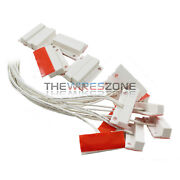 50 Pack White Door Window Security Alarm Contact Surface Reed Home Switch Sensor