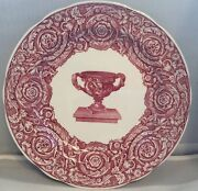 Spode Archive Collection Plate Victorian Series Warwick Vase 10 Dinner Plate
