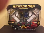 Battroborg 3-in-1 Battle Arena - Colonel Clubber And Scaldor - Yellow And Blue