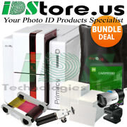 Evolis Primacy Expert Single Side Red Mag Complete Photo Id Card Printer System