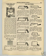1927 Paper Ad Goodell Pedal Foot Power Treadle Lathe
