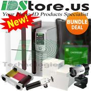 Evolis Primacy Expert Dual Side W/lcd Complete Photo Id Card Printer System