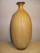 RETRO MONUMENTAL AMERICAN STUDIO HARRISON MCINTOSH CALIFORNIA ART POTTERY VASE