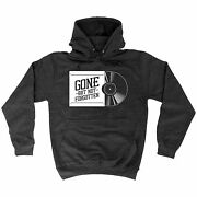 Gone But Not Forgotten Hoodie Collector Record Vinyl Old Skool Gift Birthday