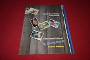 Ford New Holland Tractor Ertl Export Toys 1989 Dealerand039s Brochure Dcpa6