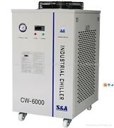 Industrial Water Chiller Cool 100w Solid-state Laser 22kw Cnc Spindle Cw-6000an