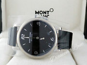 Star Classique Black Dial Leather Strap Automatic Menand039s Watch 107072