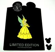 Jumbo Le 300 Disney Pin✿ Tinker Bell In Belle Costume Tink Beauty And The Beast