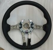 Bmw Oem F10 M5 F06 F12 F13 M6 M Sport Steering Wheel Tri-color With Trim Cover