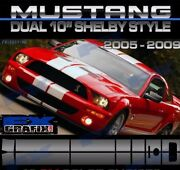2005 - 2009 Ford Mustang Shelby Lemans Roush Style Super Stripes Top Quality