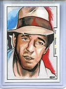 Vintage Movie Posters Monsters Comedy Sketch Card By Sean Pence Humphrey Bogart