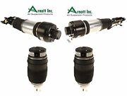 For Mercedes E Cls -class W211 W219 Set Of 2 Front And 2 Rear Air Struts Shocks