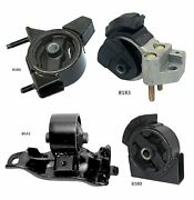 4 Pcs Motor And Trans. Mount For 1990-1992 Toyota Corolla 1.6l 2wd 4 Spd