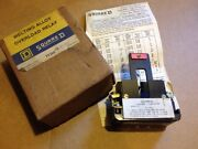 Square D Melting Alloy Overload Relay Class 9065 Type Co-1r Series A
