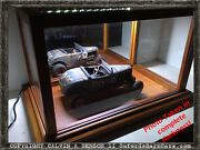Beautifully Handmade Lighted Mirrored Display Case For 118+ Scale Models