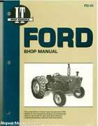 Ford New Holland 2000 3000 4000 3-cylinder Pre 1975 Tractor Repair Manual ...