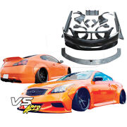 Frp Lbpe Wide Body Kit 2dr Coupe Fits Infiniti G37 Coupe 08-15 Vsaero