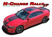 2015-2020 For Dodge Charger R/t Scat Pack 392 Hellcat Racing Stripes Decals Gra