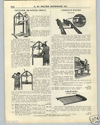 1926 Paper Ad Weaver Car Auto Automobile Service Station Rack Lift Motor Stand