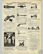 1936 Paper Ad 3 Pg Stanley Bench Plane Defiance Iron Planes Tool Tools