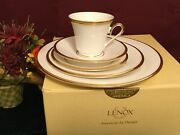 Lenox Eternal White 5 Piece Place Setting New In Box Usa 6223796 White Color
