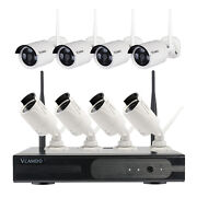 720p Home Wifi Wireless 8 Bullet Security Outdoor Surveillance Camera Systems Hd