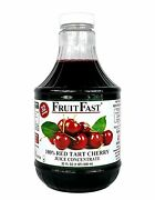 Fruitfast - Tart Cherry Juice Concentrate Cold Filled One Quart 32 Day Supply
