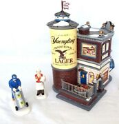 Dept 56 Yuengling Lager Tavern 55626 And Delivery 805025 New In Boxes Man Cave