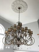 Grand Elegant Chandelier By Minka Lavery 21 Lights 59 Inches Wide