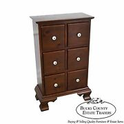 Country Pine 6 Drawer Apothecary Chest By Pine Tique