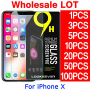 Tempered Glass Screen Protector For Iphone X Xr Xs Max 8 7 6s Plus 5 4 S Se Lot