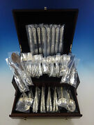 King Richard By Towle Sterling Silver Flatware Set For 8 Service 64 Pieces
