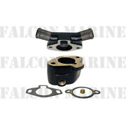 Glm 13550 Thermostat Housing+cover For Mercruiser V6 V8 W/closed Cooling 55131a5