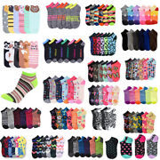 12480 Women Mixed Assorted Designs Colors Ankle Low Cut Socks Wholesale Lots