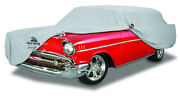 1957 Chevrolet Station Wagon Custom Fit Grey Cotton Plushweave Indoor Car Cover