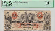 On Sale-confederate States Of America Type 22 Pcgs Vf-30 10.00 Note
