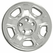 Wheel Skin Covers For 2002-07 Jeep Liberty [chrome 16-inch Set Of 4] Premium Fx